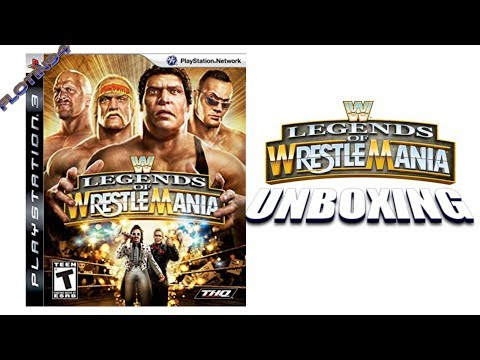 WWE Legends of Wrestlemania | UNBOXING | FloTin