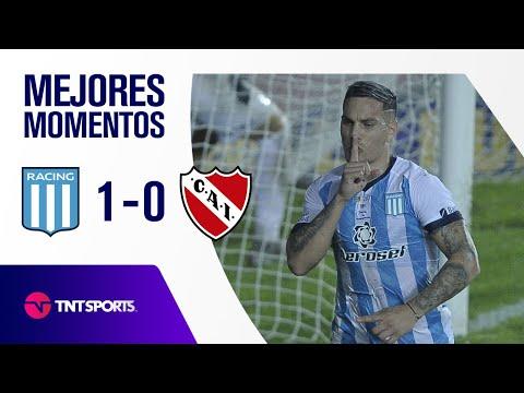 Con un penal dudoso sobre la hora, Racing le ganó 1-0 a Independiente