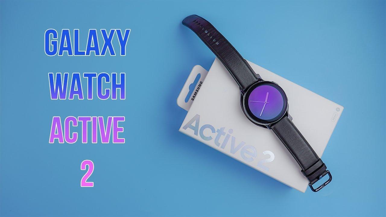 Trên tay Galaxy Watch Active 2: Bản thép 44mm quá đẹp và sang