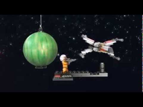 Vidéo LEGO Star Wars 9677 : X-wing Starfighter & Yavin 4