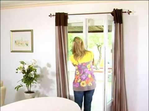 comment poser tringle double rideaux la r ponse est sur. Black Bedroom Furniture Sets. Home Design Ideas