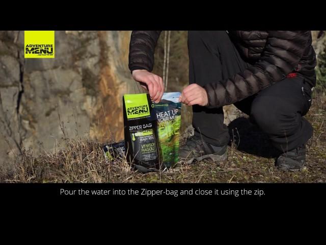 Видео Многоразовый зип-пакет Adventure Menu Zipper-bag