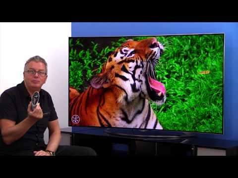 LG 65EC970V Curved 3D 4K Ultra HD OLED TV