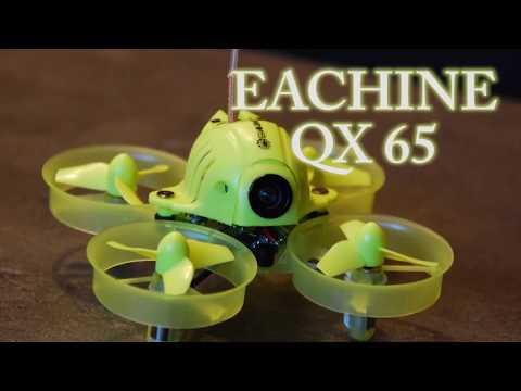 EACHINE QX65: REAL TIME FLIGHT