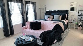 Dws Ambiance | Master Bedroom | Black, Pink & Silver  | Bedroom Tour Ft. California Design Den