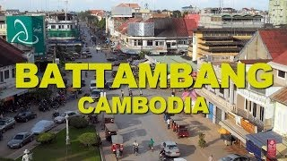 preview picture of video 'Battambang, a Good example of the French Colonial Architecture in Cambodia'