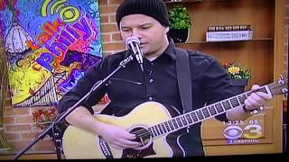 "Jordan White performs ""Maybe, Amy"" LIVE on CBS-3 ""Talk Philly"""