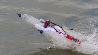 How to make a BOAT || bottle BOAT - recycling plastic bottles - boat