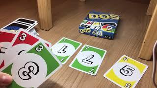Kartenspiel DOS aus der Uno Familie - Wie spiele ich es?