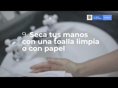 LAVADO DE MANOS - COVID 19