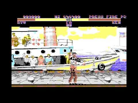 New Street Fighter 2 Champion Edition for C64 - Preview