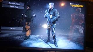 How to get past The Division connection issue. This is on PS4