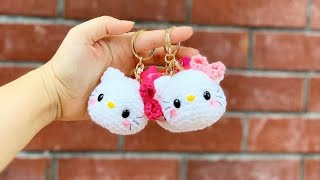 Hello Kitty Crochet Doll For Beginners