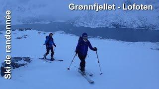 Ski de randonnnée - Lofoten Grønnfjellet