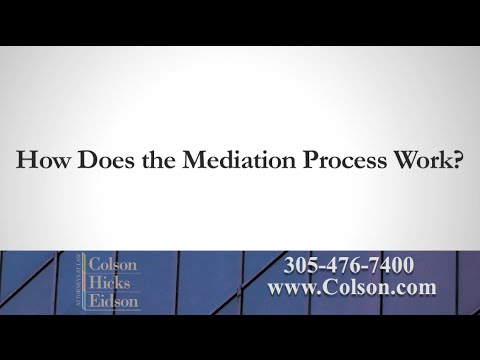 How Does Mediation Work?