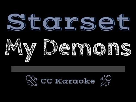 Starset • My Demons (CC) [Karaoke Instrumental Lyrics]