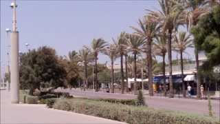preview picture of video 'Strandpromenade Playa de Palma, Mallorca (Majorca)'