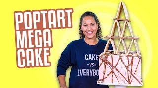 POPTART Mega Cake!!   JENGA ANYONE??   How To Cake It