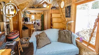 Her Whimsical Tiny House Looks Like a Fairytale