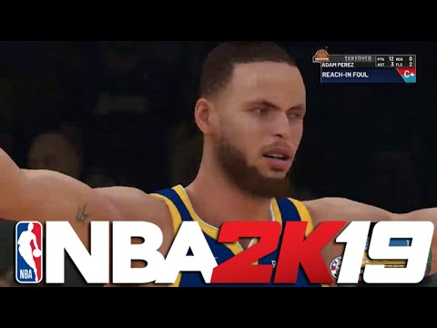 NBA 2K19 My Career Offline - ARE THESE REALLY THE WARRIORS?!