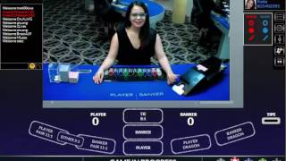 LIVE Baccarat Card Counting 11-28-16