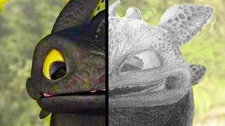 БЕЗЗУБИК. Как создавали дракона Ночная Фурия