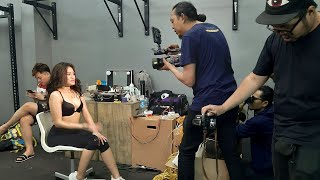 LIVE! Photoshoot with Callista - Male Indonesia