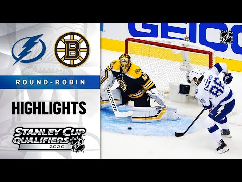 NHL Highlights | Lightning @ Bruins, Round Robin – Aug. 5, 2020