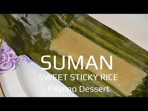 Download Suman Kakanin Sweet Sticky Rice Filipino Dessert HD Mp4 3GP Video and MP3