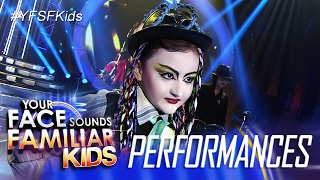 Your Face Sounds Familiar Kids: Alonzo Muhlach as Boy George - The War Song