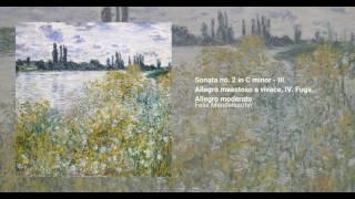 Organ Sonata, Op. 65 no. 2