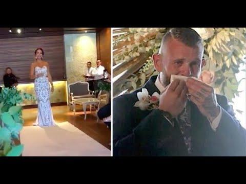 Глухой жених не понимал, почему его невеста не подходит к нему. Но когда осознал, то растрогался