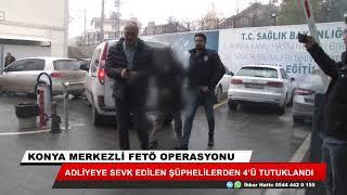Konya merkezli 24 ildeki operasyona 4 tutuklama! 25 şüpheli etkin pişmanlıktan yararlanacak