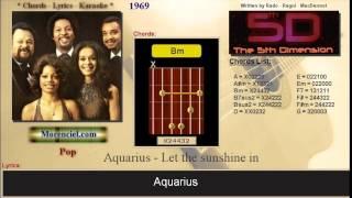 5th Dimension - Aquarius Let The Sunshine In #0136