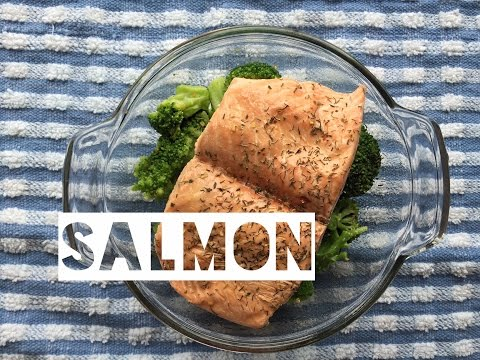 Video How To Cook Healthy Salmon Without an Oven | Perfect For Cooking Salmon In College