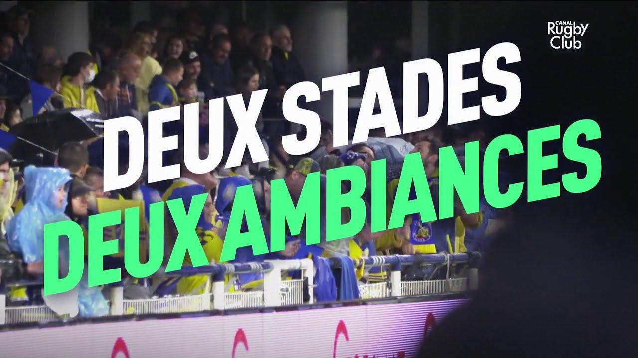 Clermont : deux stades, deux ambiances
