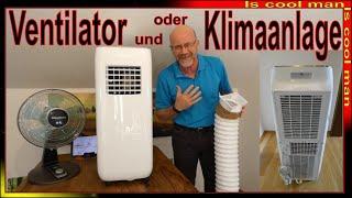 Ventilator und Klimaanlage Dreamteam ❆ 4 Jahre Erfahrung [ Vergleichstest ] Sommer 2021 Klimagerät