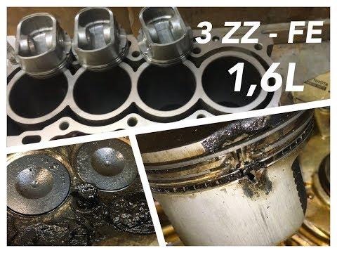 Фото к видео: Капитальный ремонт двигателя Тойота Королла 3ZZ FE