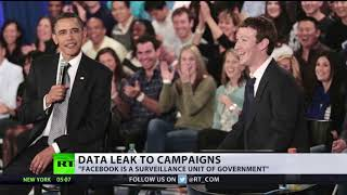 Facebook blamed for leaking data of millions of users to politicians
