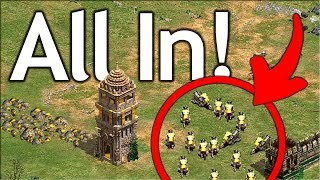 All In Arena Strategy! Who needs extra villagers!?