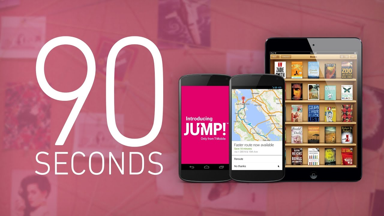 Apple's price-fixing, T-Mobile's Jump, and Google Maps: 90 Seconds on The Verge thumbnail