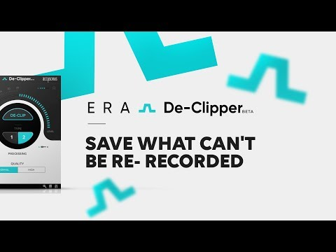 ERA De-Clipper | Save What Can't Be Re-recorded