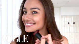 Victoria's Secret Model Kelsey Merritt's Guide to Freckles & Better Brows | Beauty Secrets | Vogue