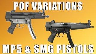 FedArm Imported POF MP5 Semi-Auto Sporting Pistol, Blemished, 9mm w