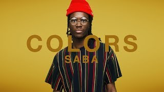 Saba - There You Go   A COLORS SHOW