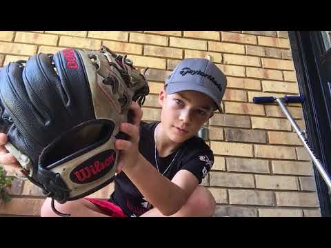Wilson A2000 1788 Elvis Andrus signature glove review