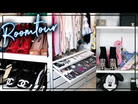 Mein Ankleidezimmer | Roomtour begehbarer Kleiderschrank | Ikea PAX Gewinnspiel