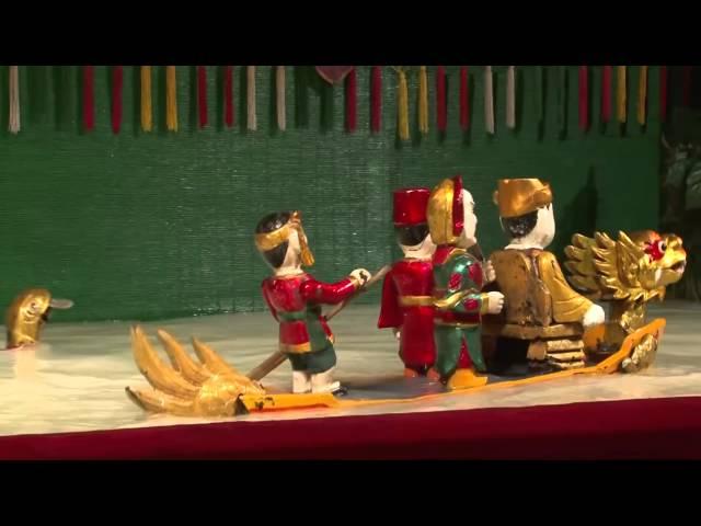 Vietnam water puppetry best 1 – Vietnam Folk Art -Underwater puppets