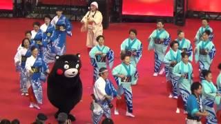 くまモンも踊るモン♪♪「牛深ハイヤ祭り」  【ふるさと祭り東京2014】
