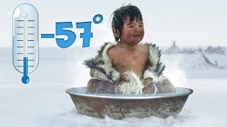 This Is How People Shower in the Coldest Place in the World